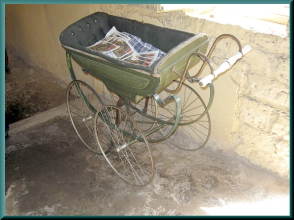 Old baby buggy